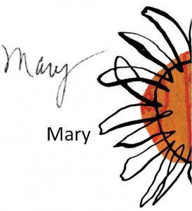 Mary Signature with Sun II