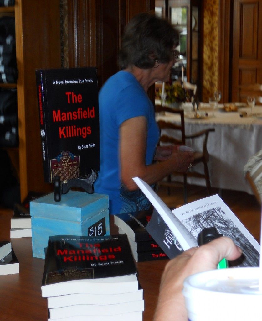 Mansfield Killing Book Signing cropped