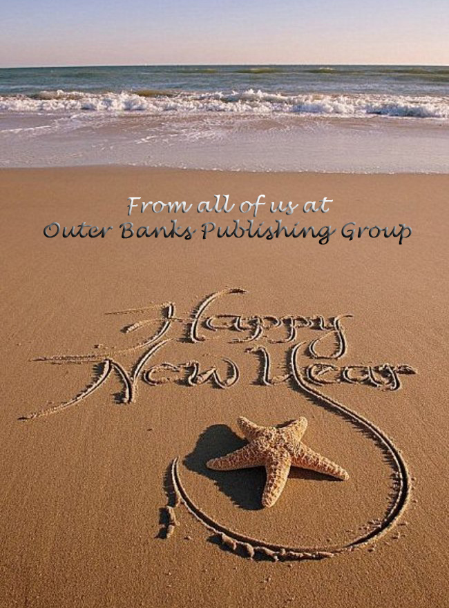 Happy New Year 2018 from Outer Banks Publishing Group