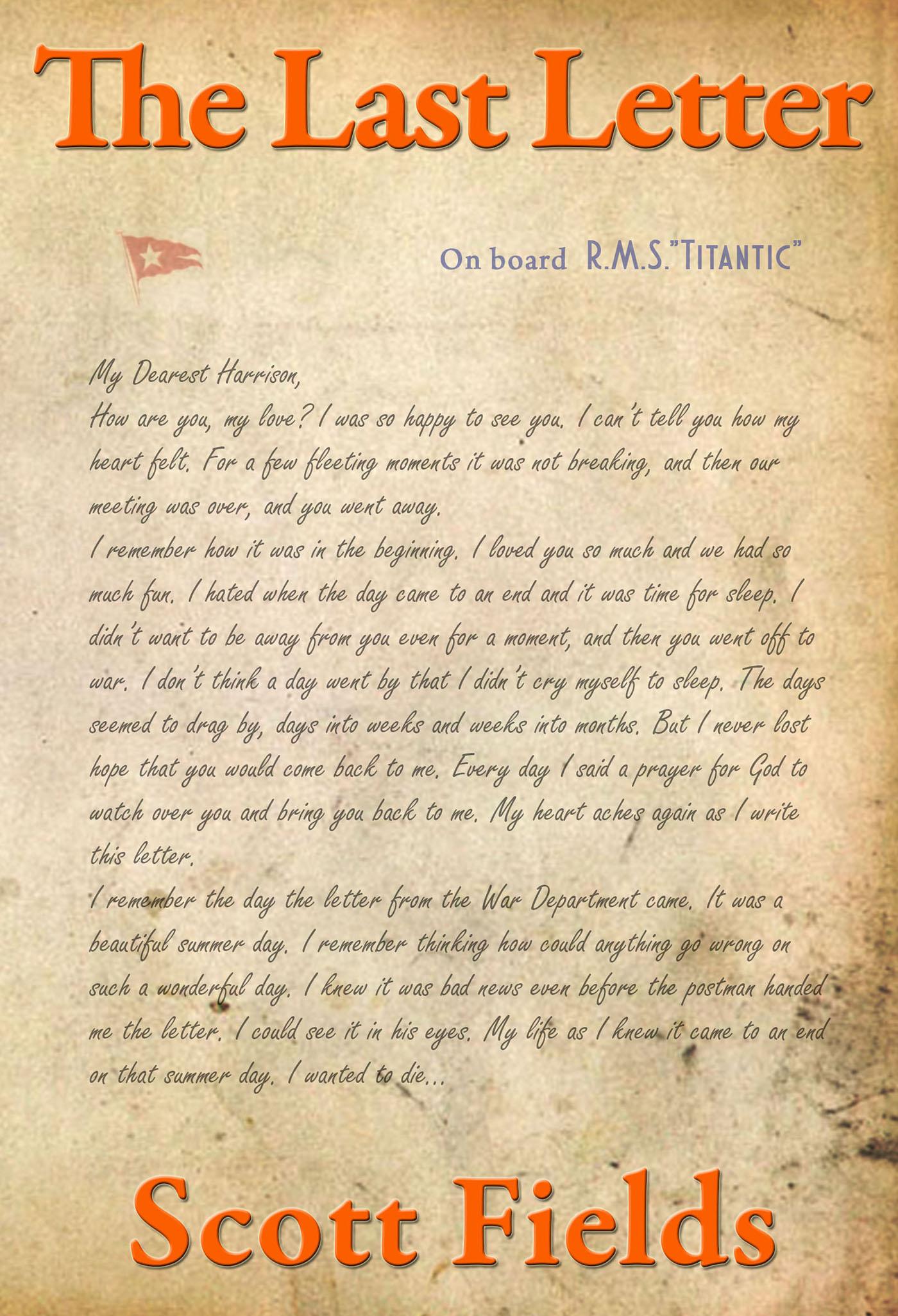 The Last Letter, Scott Fields, Outer Banks Publishing Group